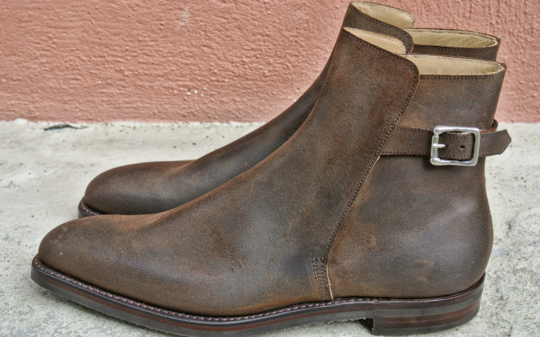 CHRISTIAN BOEHNE OWN SERIES BUCKLE BOOT X CROCKETT & JONES
