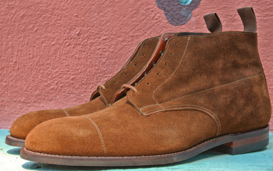 Christian Boehne Derby Boot x Crockett & Jones – Jubiläumsmodell V