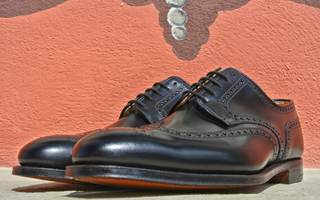 Christian Boehne Derby Brogue X Crockett & Jones