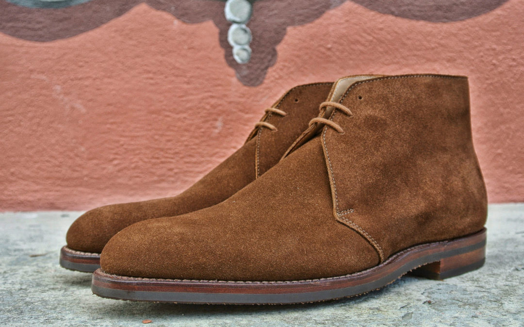 Christian Boehne Chukka Boot X Crockett and Jones