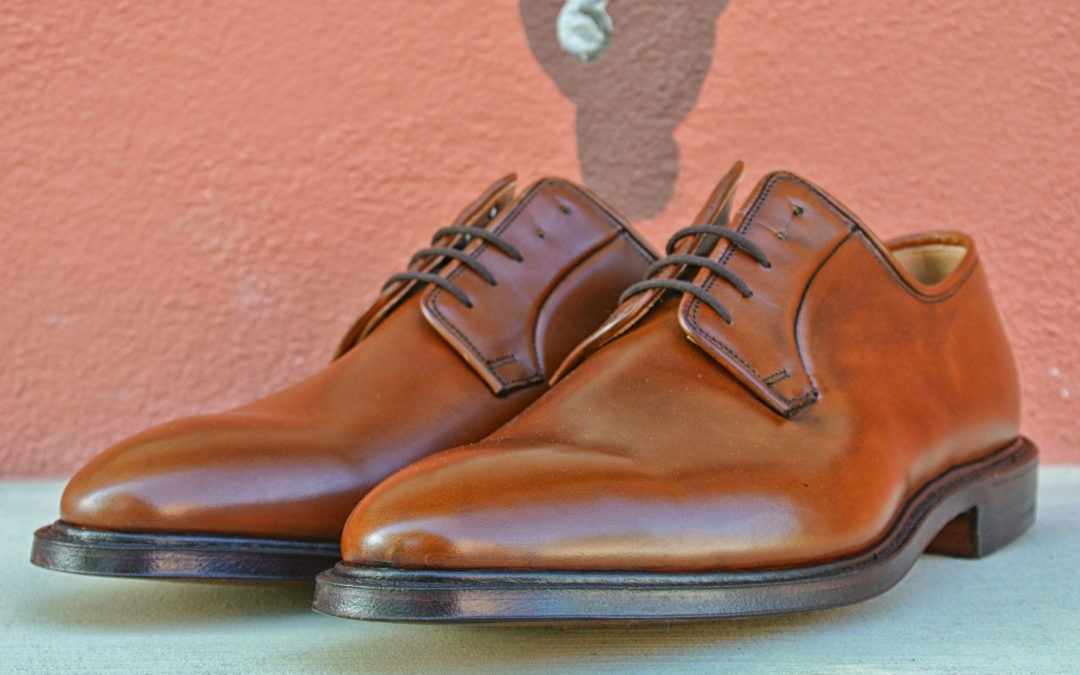 Christian Boehne Own Series Restock Plain Derby Edition II X Crockett & Jones