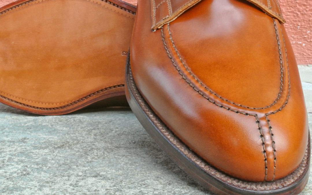 Christian Boehne Own Serie X Crockett & Jones NEW Norwegian Derby Shoe on double Leather Sole