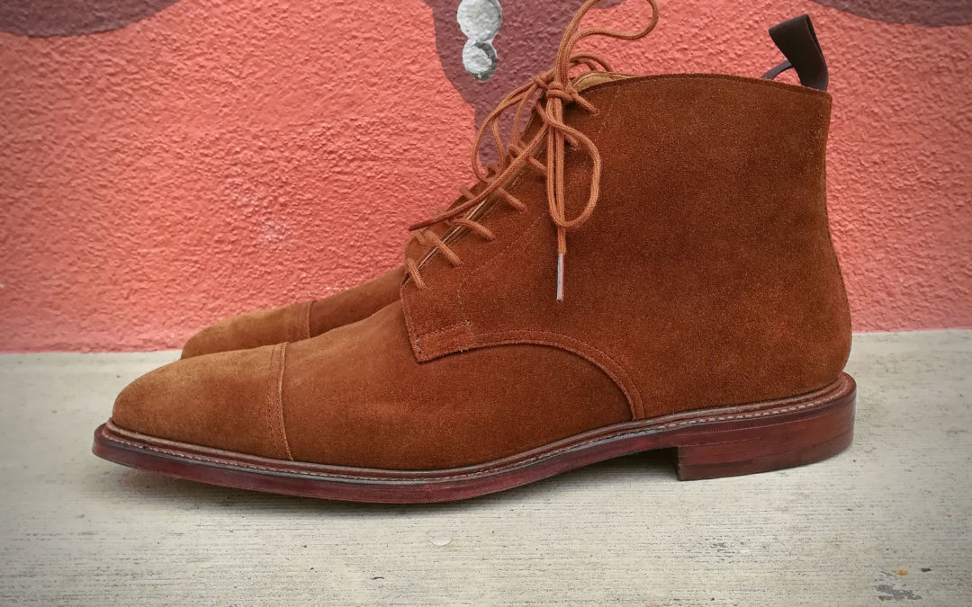 CHRISTIAN BOEHNE OWN SERIES DERBY BOOT X CROCKETT & JONES
