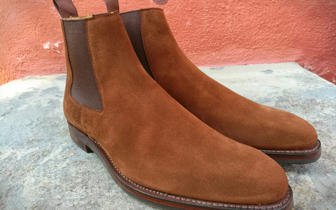 Christian Boehne Chelsea Boot Own Serie X Crockett & Jones