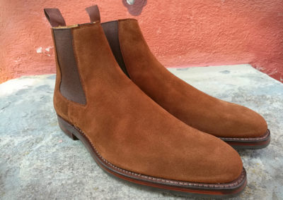Christian-Boehne-Chelsea-Boot-rough-suede-Crocket-Jones-#001