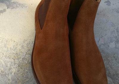 Christian-Boehne-Chelsea-Boot-rough-suede-Crocket-Jones-#009