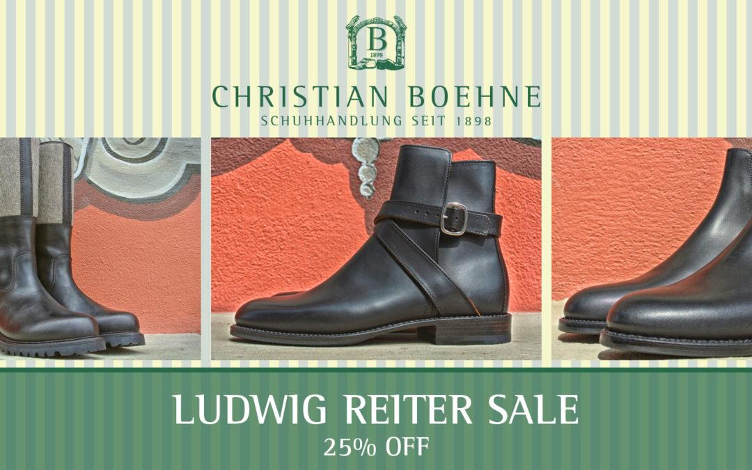 Ludwig Reiter Sale @ Christian Boehne